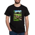 Angkor Wat Ruined Causeway Dark T-Shirt