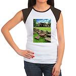 Angkor Wat Ruined Causeway Women's Cap Sleeve T-Sh