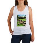 Angkor Wat Ruined Causeway Women's Tank Top