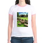 Angkor Wat Ruined Causeway Jr. Ringer T-Shirt