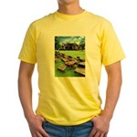 Angkor Wat Ruined Causeway Yellow T-Shirt