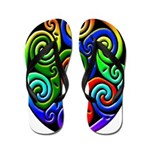 Celtic Swirls Flip Flops