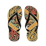 Celtic Gold Flip Flops