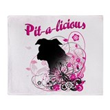 Pit-a-licious Throw Blanket