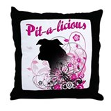 Pit-a-licious Throw Pillow