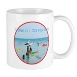 SEAGULLS LOVE FISH Small Mug