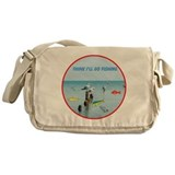 SEAGULLS LOVE FISH Messenger Bag