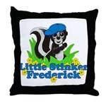 Little Stinker Frederick Throw Pillow