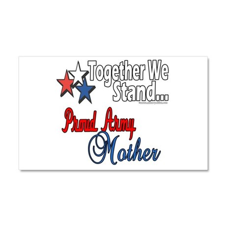 Proud Army Mommy Car Magnet 20 x 12