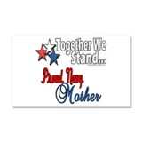 Proud Navy Mother Car Magnet 20 x 12