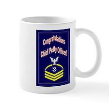 Congratulations Chief Petty O Small Mug