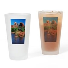 Cathedral Rock, Sedona Drinking Glass