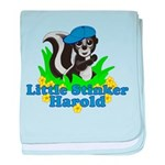 Little Stinker Harold baby blanket