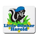 Little Stinker Harold Mousepad