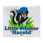 Little Stinker Harold Throw Blanket