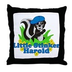 Little Stinker Harold Throw Pillow