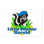 Little Stinker Harold Postcards (Package of 8)
