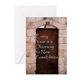 Doorway Rosh Hashana Cards (Pk of 20)