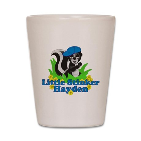 Little Stinker Hayden Shot Glass