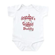 GOLFING GRANDPA'S BUDDY Infant Bodysuit