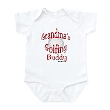 GOLF GRANDMA'S BUDDY Infant Bodysuit