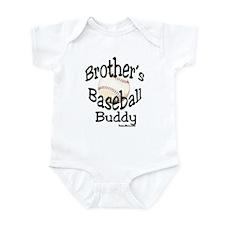 BASEBALL BROTHER'S BUDDY Infant Bodysuit