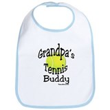 TENNIS GRANDPA'S BUDDY Bib