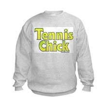 TENNIS CHICK Sweatshirt