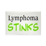 Lymphoma Stinks Rectangle Magnet (10 pack)