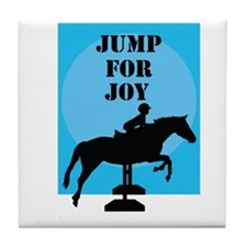 Jump For Joy Tile Coaster