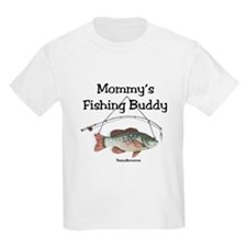 FISHING WITH MOMMY T-Shirt