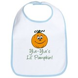 Yia-Yia's Little Pumpkin Bib