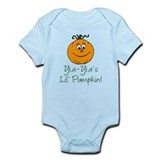 Yia-Yia's Little Pumpkin Infant Bodysuit
