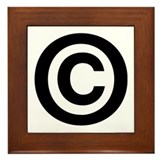 Copyright Framed Tile