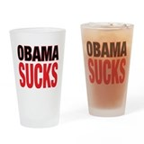 Funny Nobama Drinking Glass