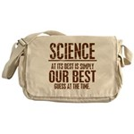 Science at Its Best Messenger Bag