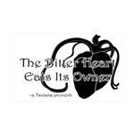 The Bitter Heart 35x21 Wall Decal