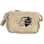 The Bitter Heart Messenger Bag