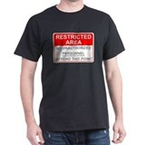 Dark Restricted Area T-Shirt