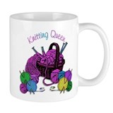 Knitting Queen Small Mugs