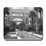 BW Fountain Garden Mousepad