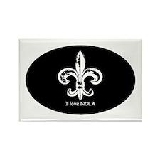 I Love NOLA Rectangle Magnet (10 pack)