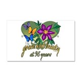 Beautiful 95th Car Magnet 20 x 12