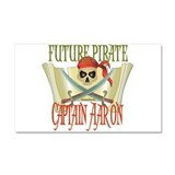 Captain Aaron Car Magnet 20 x 12