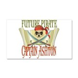 Captain Ashton Car Magnet 20 x 12