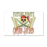 Captain Jayden Car Magnet 20 x 12