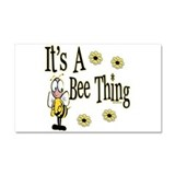 Bee Thing! Car Magnet 20 x 12