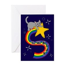 Yes We NYAN Greeting Card