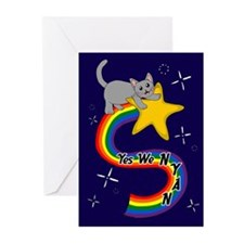 Yes We NYAN Greeting Cards (Pk of 10)