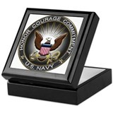 USN Eagle Honor Courage Commi Keepsake Box